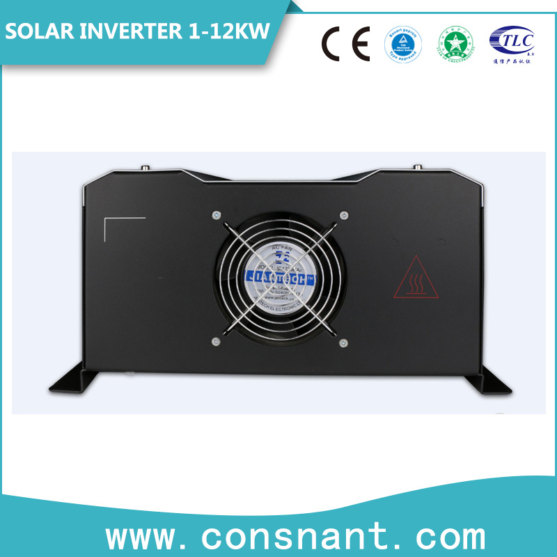 12VDC 230VAC off Grid Solar Inverter 1kw/2kw/3kw Built-in MPPT