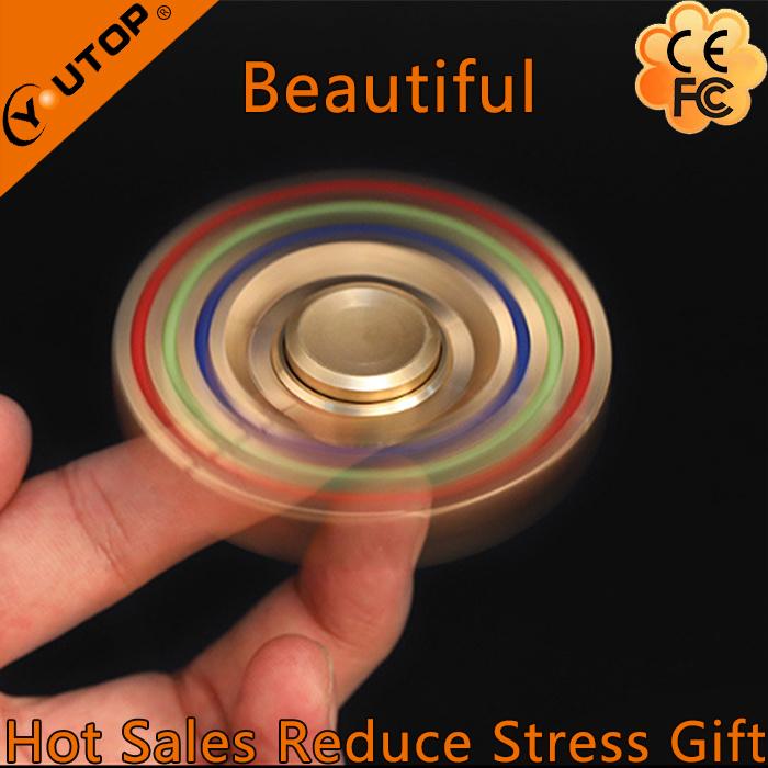 New Hexagonal Brass Hand Spinner/ Finger Spinner