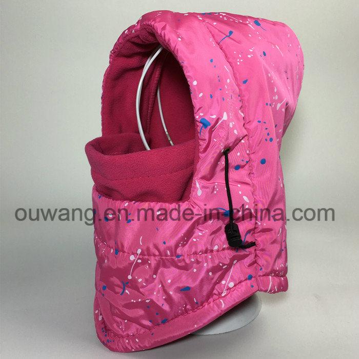 Winter Custom Windproof Waterproof Ski Mask Hat Fleece Scarf Balaclava