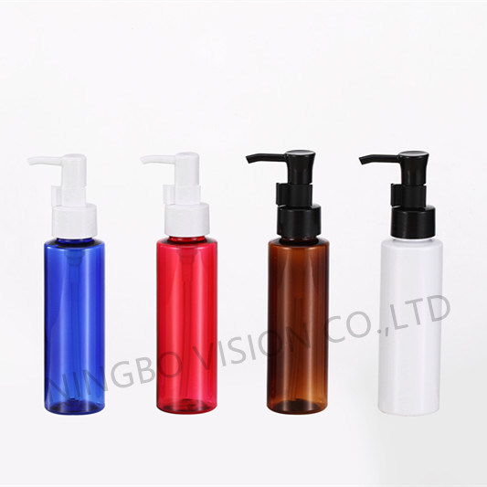 3.3oz Plastic Lotion Bottle for Cosmetic Packaging