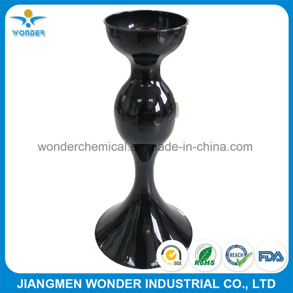 Outdoor UV-Resistant Pure Polyester Black Powder Coating