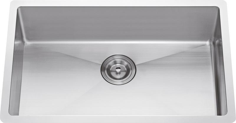 S1103 304# S. S Single Bowl Handmade Sink Undermount