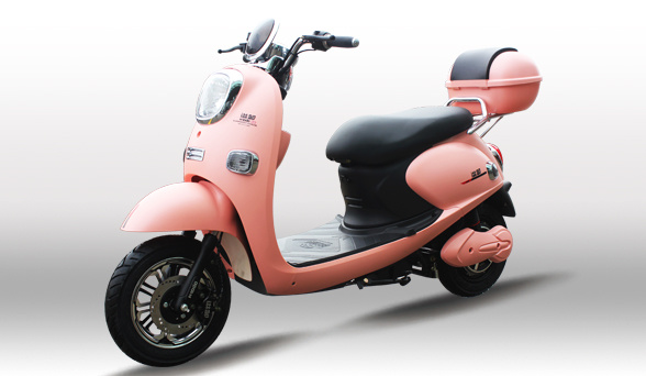 60V 1000W 2 Seats Motorcycle Electric with Disc Brakes for Woman