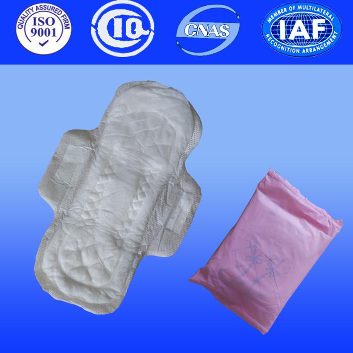 Ladies Sanitary Pad for Women Sanitary Towel with Anion Sanitary Napkin (PC041)
