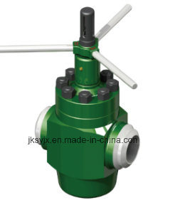 API 6A Mud Valve-Welded End Used in Oil Field