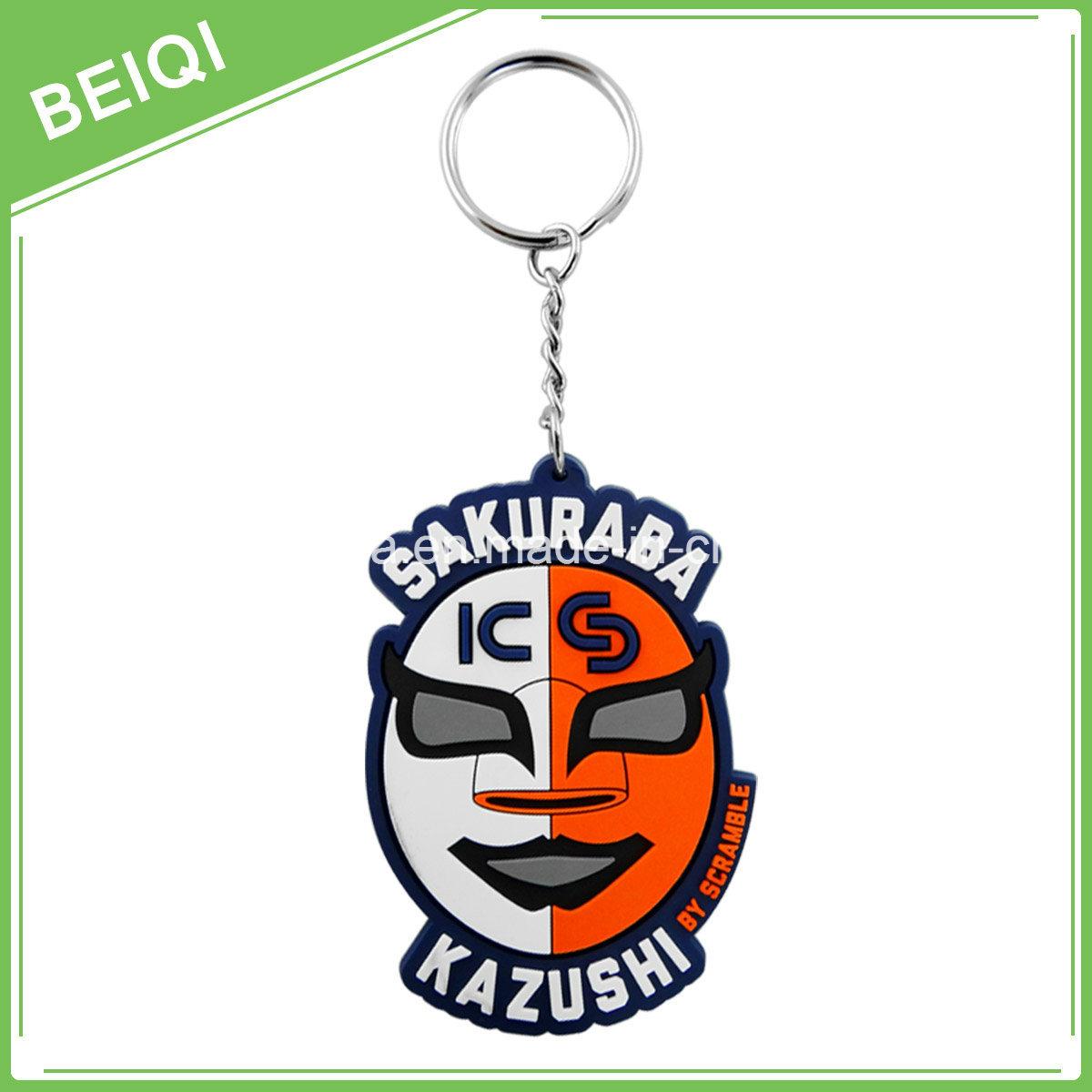 3D PVC Keychain, Custom Soft PVC Keychains, Soft PVC Rubber Keychain