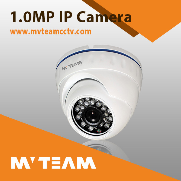 Dome Type Vandalproof IP Camera with IR Cut