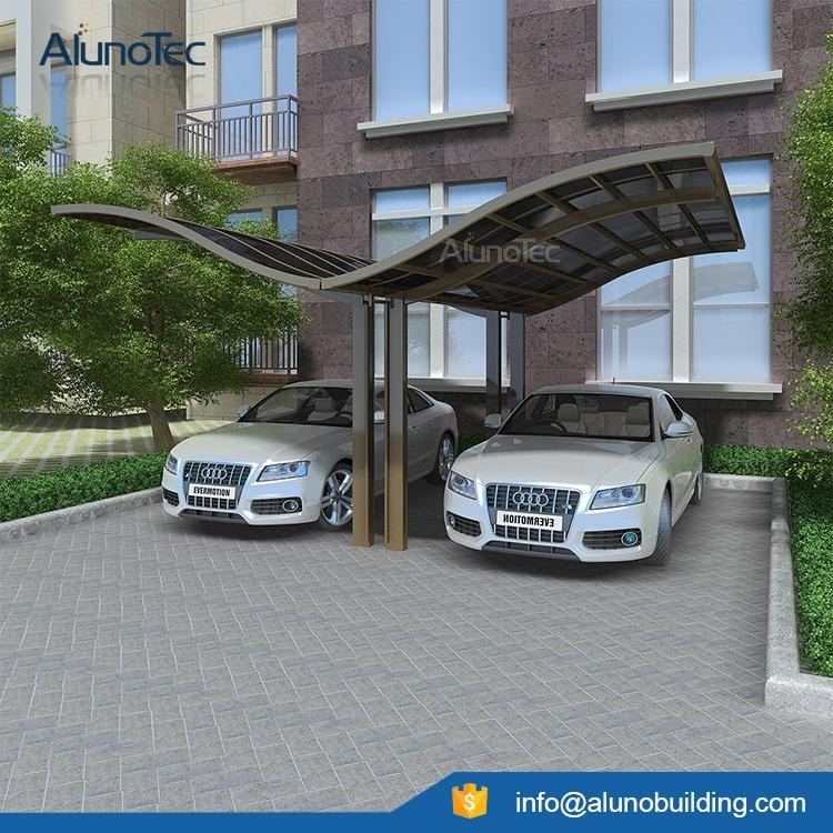 Economic Polycarbonated Roof Aluminum Carport Cover