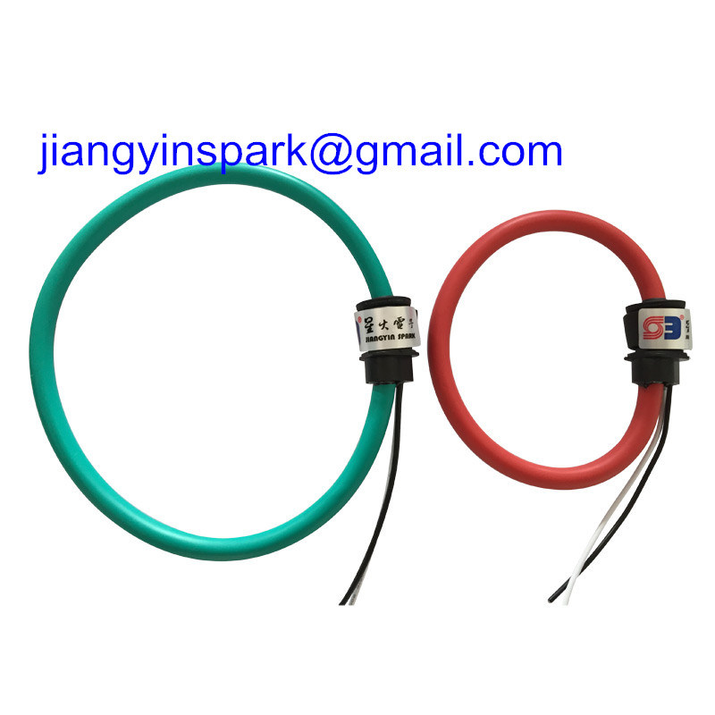 0-0.333V or 0-10V 4-20mA Output Flexible AC Current Probes Rogowski Coil Manufacturer