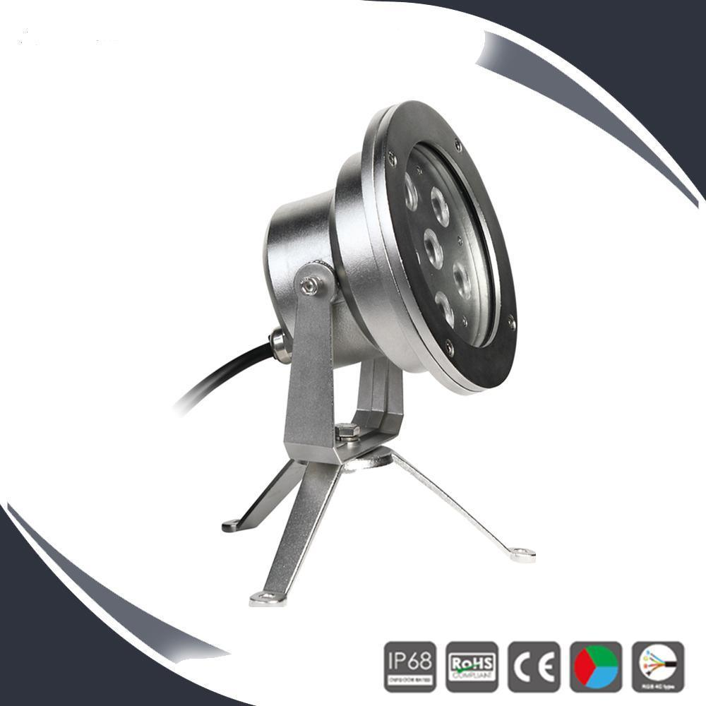 6X3w IP68 LED Fountain Light, Underwater Light, Projection Light
