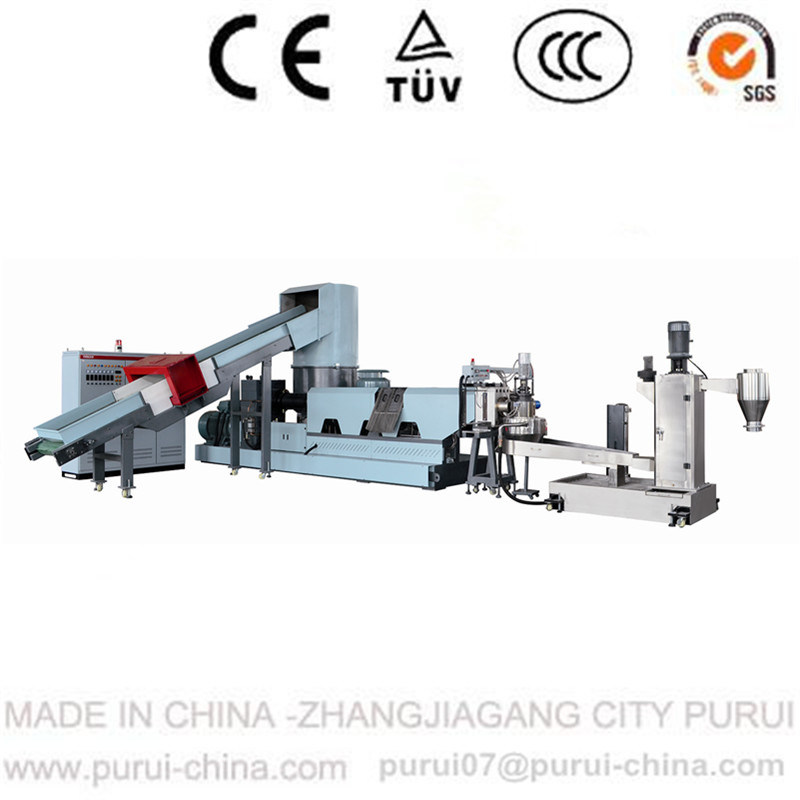 Plastic Pelletizing for Waste Plastic Recycling