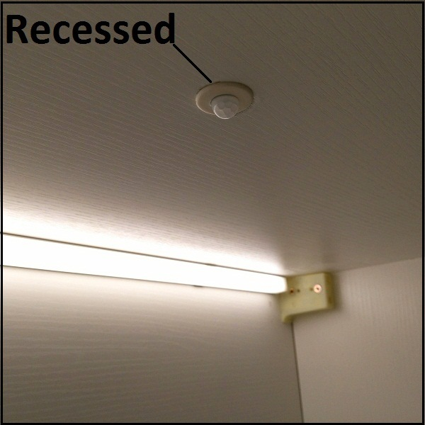 Recessed Motion Sensor Switch