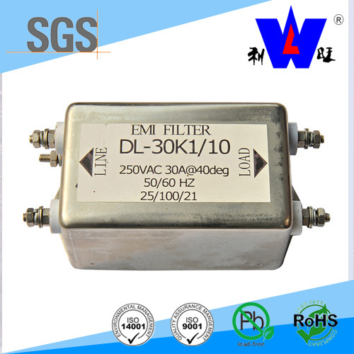 250VAC 50/60Hz EMI Noise Filter
