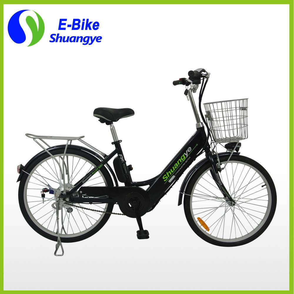 36V Lithium Battery 24 Inch City Electric Bike