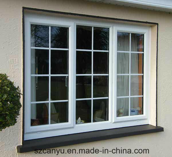 Manufacturing PVC Window Hinge PVC/UPVC Sliding Window with Low Price