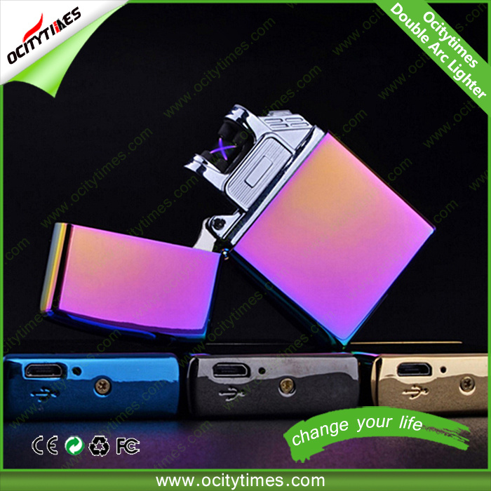 Electronic Lighter Factory Wholesale High Quality USB Cigarette Lighter