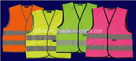 Safety Vest for Kids & Adults, Made of Knitting Fabric, Direct Factory