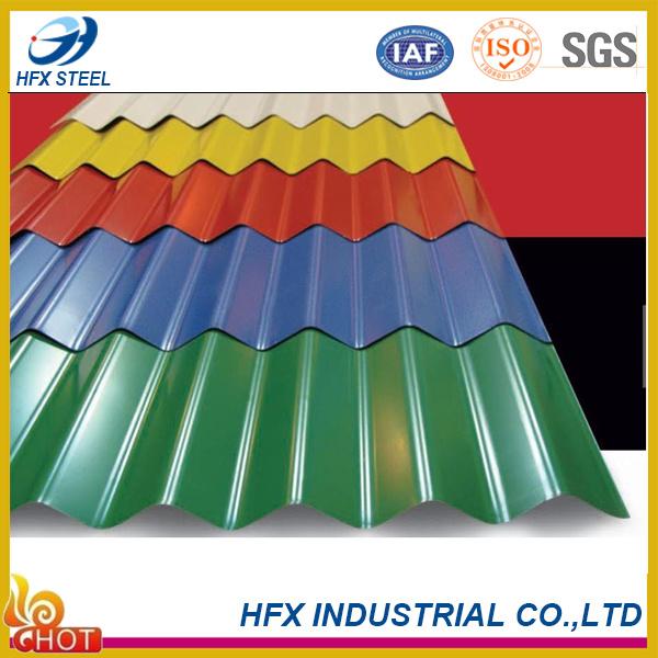 Wholesale Price Prime Color Corrugated Steel Sheet