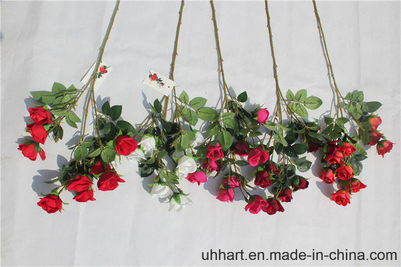 Real Touch Rose Faux Flowers for Home Wedding Decoration Artificial Flowers