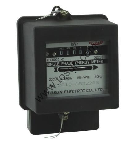 Single Phase Energy Meter Watt Hour Meter Electricity Meter