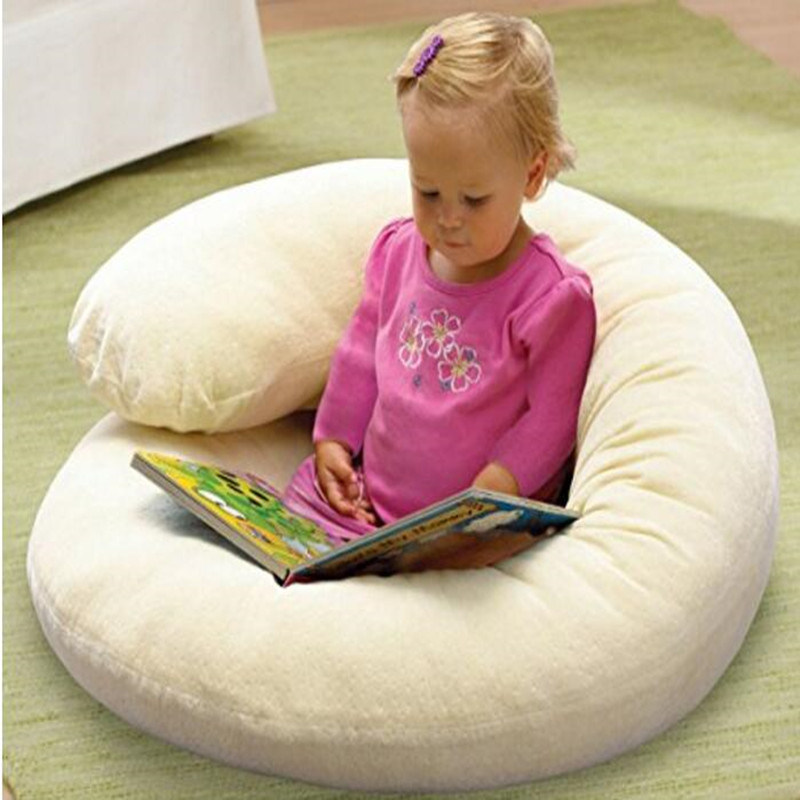 Newborn U-Shape Solid Polyester Waist Baby Pillow
