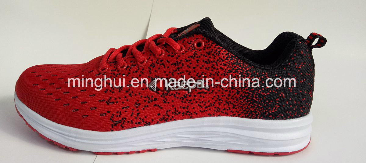 Fly Knit Material Light Weight Sport Shoes Running Shoes Footwear Sports Shoes