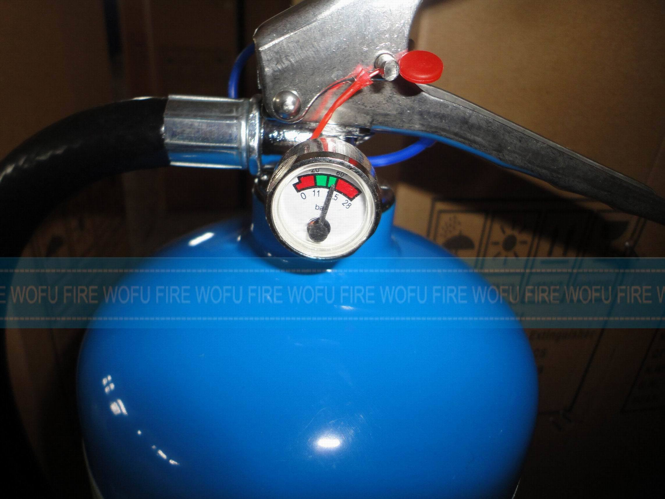 3kg Fire Extinguisher Blue Cylinder
