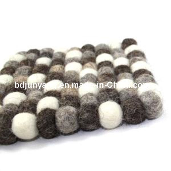China Factory Coaster Felt Wool Low Price