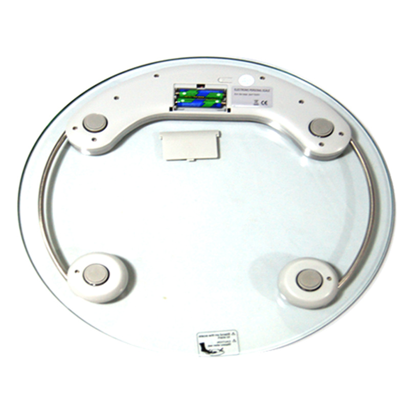 200kg/50g Clear Glass Household Health Body Scale