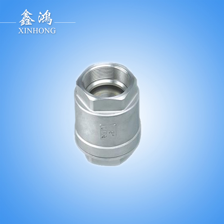 304 Stainless Steel Vertical Check Valve Dn15