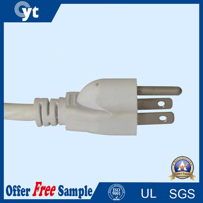 UL 3pin Plug American Standard Power Plug