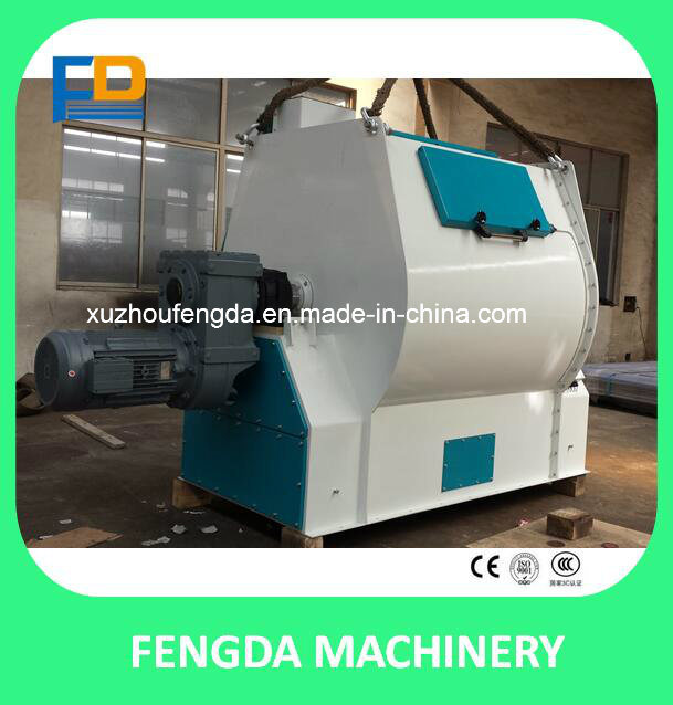 Custom-Made Simple Mantainance Mixer Machine for Animal Feed-Single Shaft Paddle Mixer
