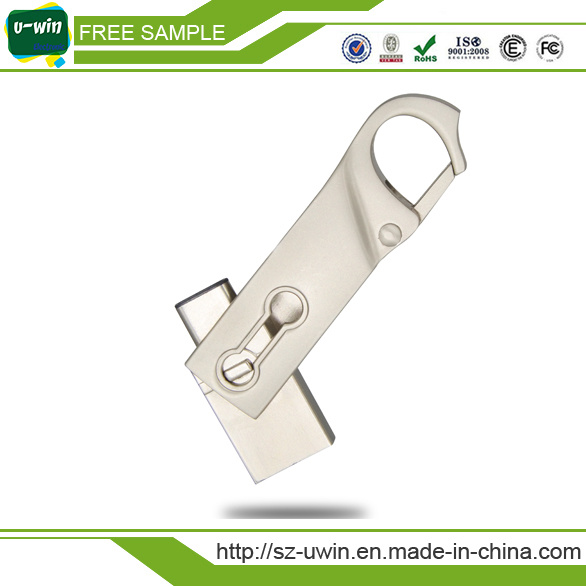 Free Samples Type-C Flash Drive USB 8GB with Customs Logo