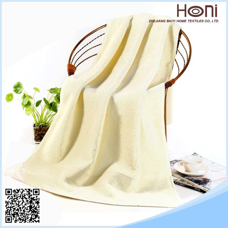 100% Cotton Customized Terry Bath Towel