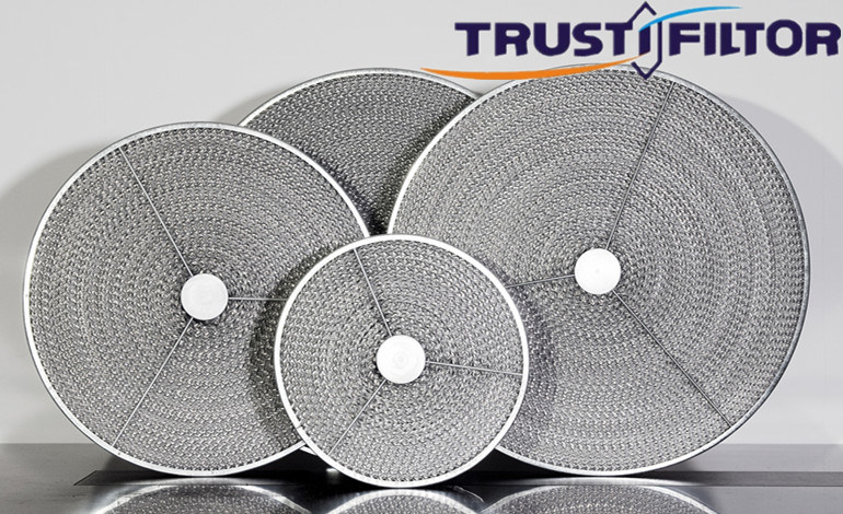 Commercial Circle Range Hood Honeycomb Grease Filter