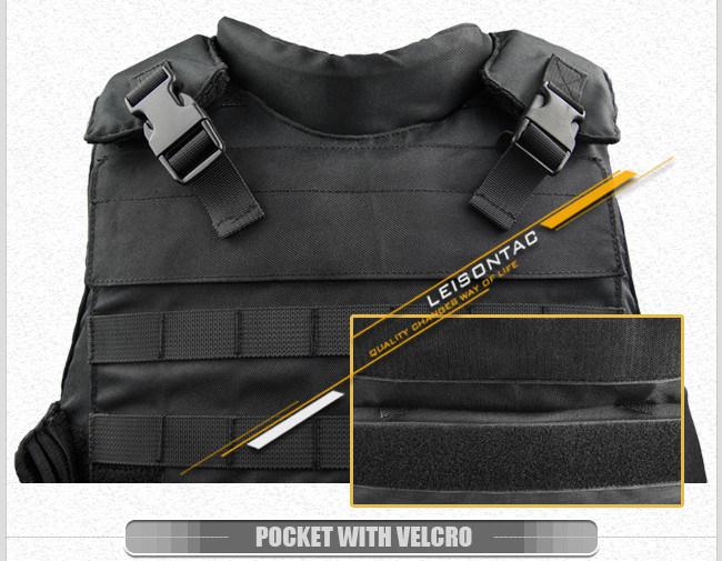 Kelvar Ballistic Vest with Molle System /Nij Performance