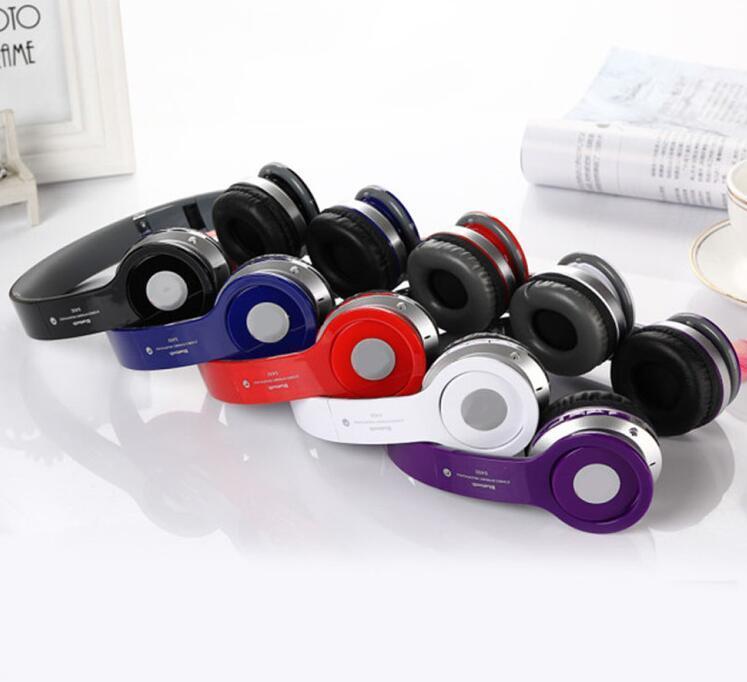Wireless Bluetooth FM TF Headphone with Logo