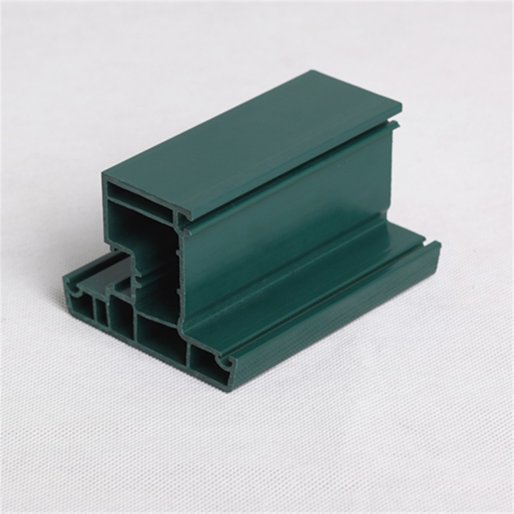 Whole Body Green PVC Profile for Windows and Doors