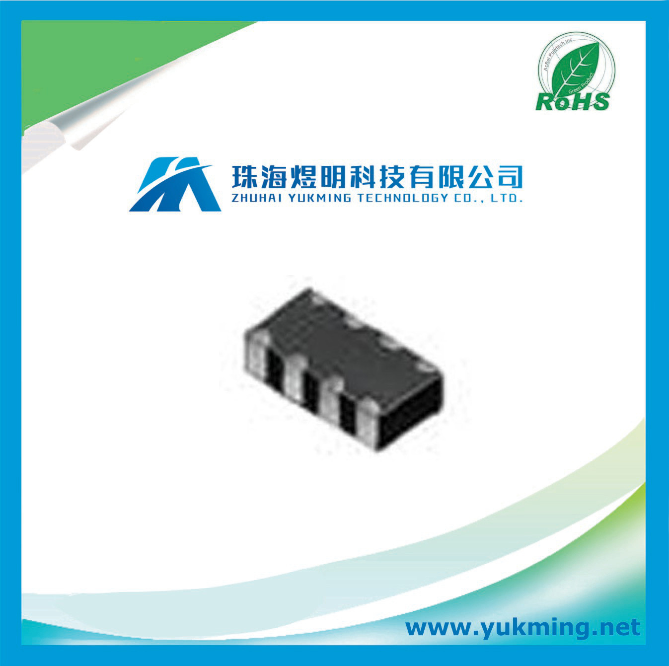 Inductor Bla31bd601sn4d of Emifil (Inductor type) Chip Ferrite Bead (Array)