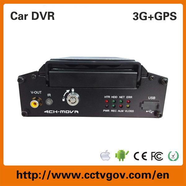 Fleet Management 720p Ahd 4CH Car GPS/3G/4G/SIM Mdvr for Truck Bus Taxi