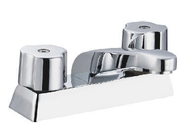 "Brass 4"" Basin Faucet with Chrome Plated"