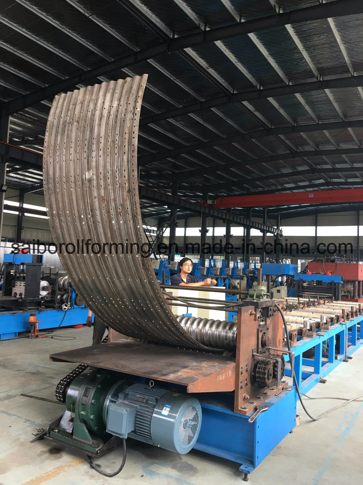 Yx12-76-1064 Silo Roll Forming Machine (3mm)