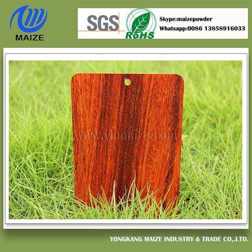 Stable High Imitation Wood Effect Heat Transfer Powder Coating