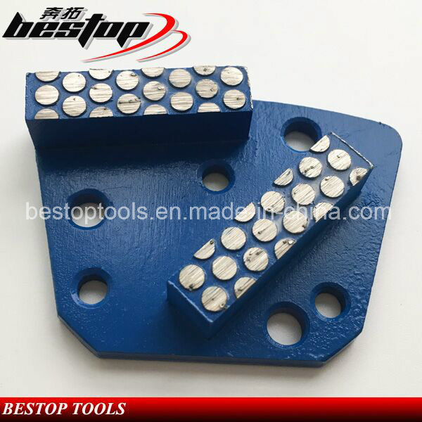 Fan-Shape Diamond Grinding Plate with Segment