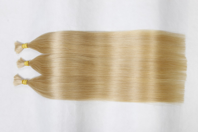 Popular 100% Real Remy Bulk Hair Extension Silky Straight