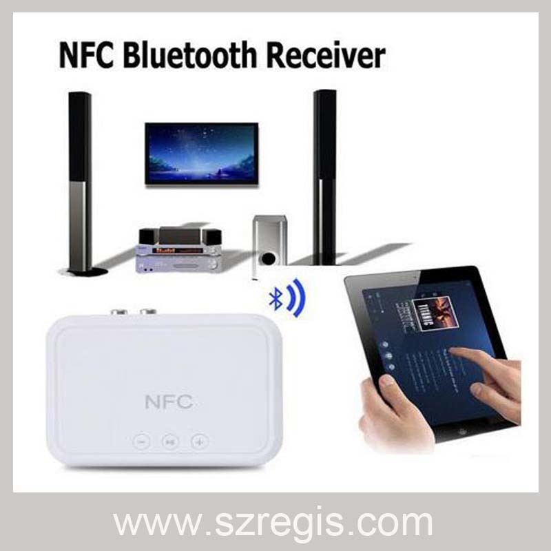 NFC Bluetooth Music Receiver Adapter Wireless Audio Speakers