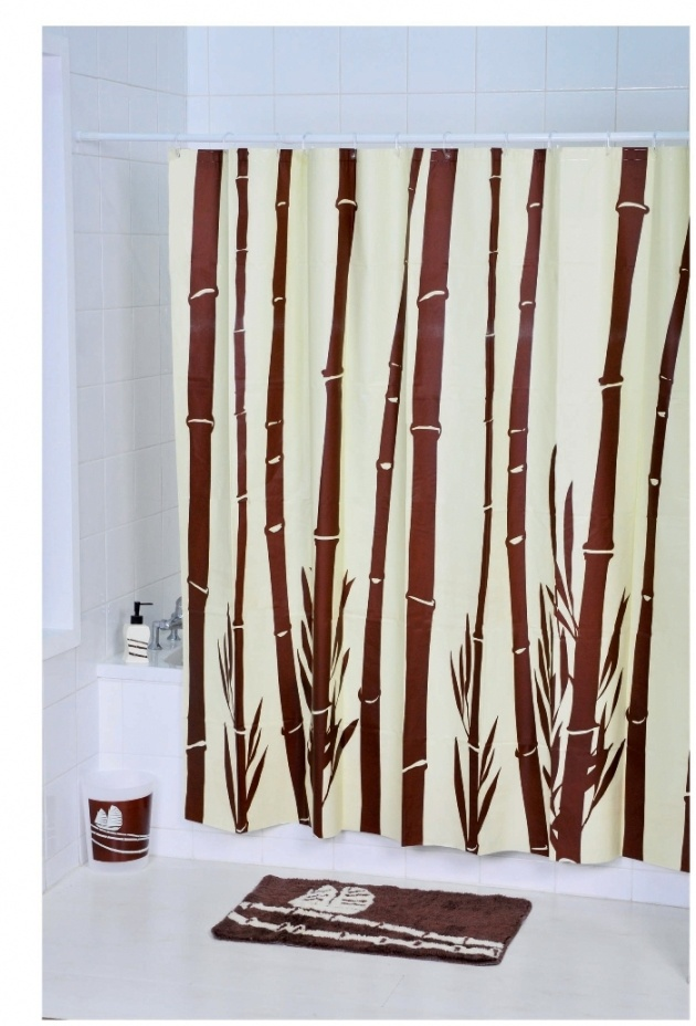Tropical painted bamboo door curtains curtains blinds for Hand painted bamboo beaded curtains