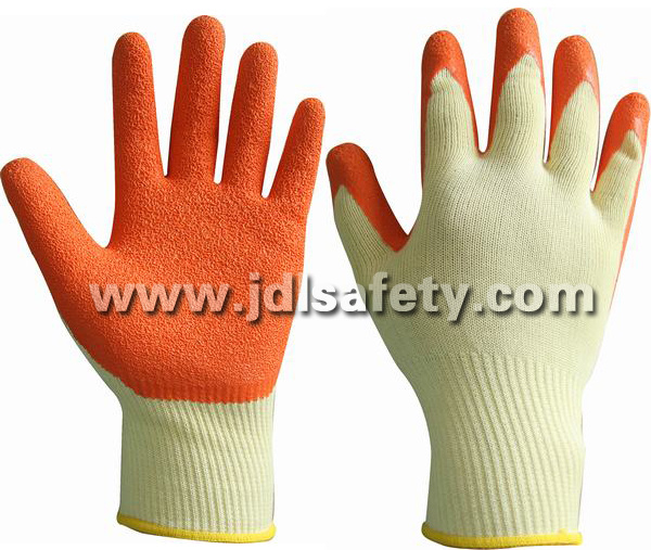 Latex Work Glove with Very Good Elasticity (LPS3021)