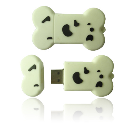 pictures of cartoon dog bones. Dog Bone Cartoon USB Flash
