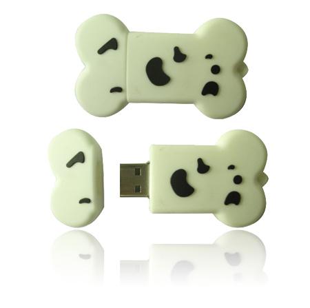 pictures of cartoon dog bones. Dog Bone Cartoon USB Flash